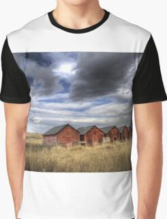 Five Red Barns Graphic T-Shirt