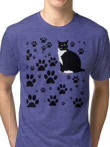 i love the purrryng CATS Tri-blend T-Shirt