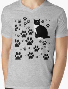 i love the purrryng CATS Mens V-Neck T-Shirt