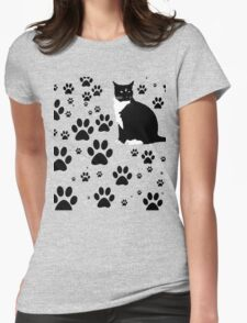 i love the purrryng CATS Womens Fitted T-Shirt