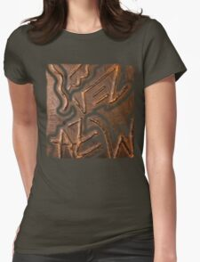 Prince and princess in vintage armour Womens Fitted T-Shirt