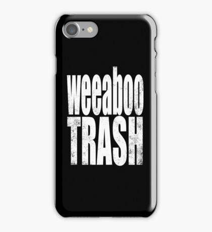 Weeaboo Trash (WHITE) iPhone Case/Skin
