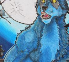 Halloween Werewolf  Sticker