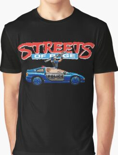 STREETS OF RAGE POLICE SUPPORT  Graphic T-Shirt