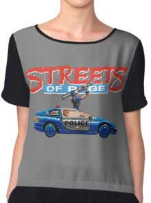 STREETS OF RAGE POLICE SUPPORT  Chiffon Top