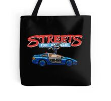 STREETS OF RAGE POLICE SUPPORT  Tote Bag