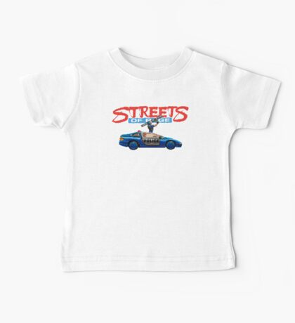 STREETS OF RAGE POLICE SUPPORT  Baby Tee