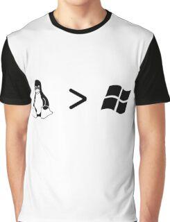 Linux/windows Graphic T-Shirt