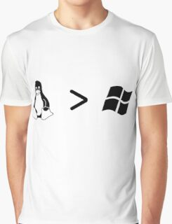 Linux/windows Graphic T-Shirt