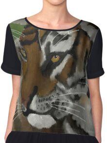 Tiger Cub Chiffon Top