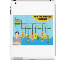 Survivor Winners Infographic iPad Case/Skin