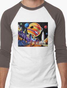 NEW WORLDS Men's Baseball ¾ T-Shirt