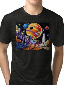 NEW WORLDS Tri-blend T-Shirt