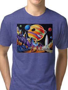 NEW WORLDS Tri-blend T-Shirt