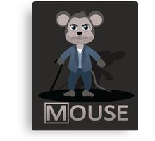 Dr Mouse Canvas Print