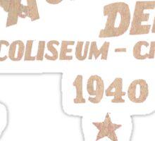 Derby vintage flag Sticker