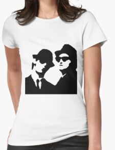 blues brothers Womens Fitted T-Shirt