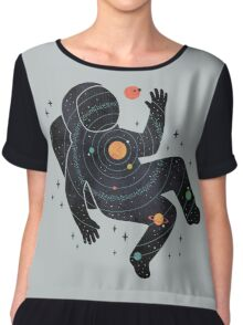 Inner Space Chiffon Top