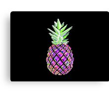 Psychedelic Pineapple Canvas Print