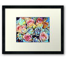 For Love of Roses Framed Print