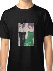 Pop Art Mid-Century Inspired Retro Portrait - Women #1 Classic T-Shirt