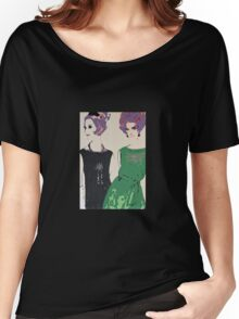 Pop Art Mid-Century Inspired Retro Portrait - Women #1 Women's Relaxed Fit T-Shirt