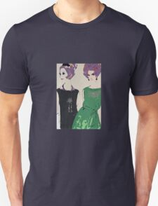 Pop Art Mid-Century Inspired Retro Portrait - Women #1 Unisex T-Shirt