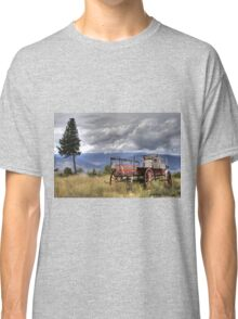 Little Red Wagon of the Wild West Classic T-Shirt