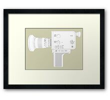 Cine Camera Framed Print