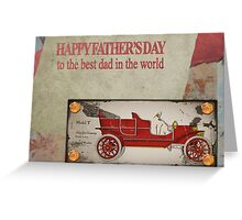 Fathers day card Greeting Card