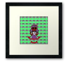 Chibi Fashion Girl #12 Framed Print