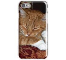 Ginger Tom cat iPhone Case/Skin