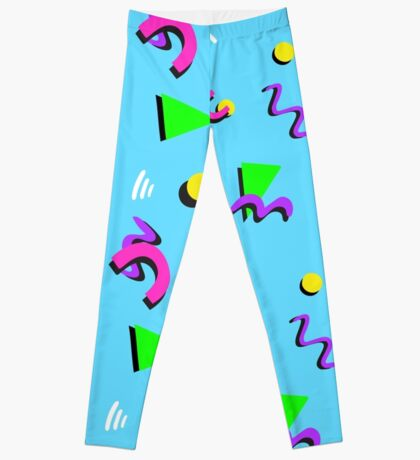 80's print, as worn by MAX COOL WOLF Leggings