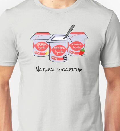 Natural logarithm Unisex T-Shirt