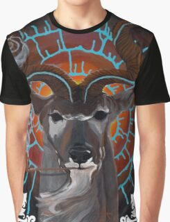 Bruth the Spiral Horned Kudu Graphic T-Shirt