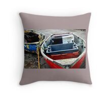 Old boats 1 Throw Pillow