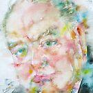 WINSTON CHURCHILL - watercolor portrait.4 by lautir