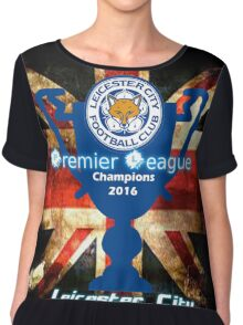 Leicester City FC 2016 Chiffon Top
