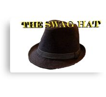 the swag hat Canvas Print