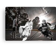 Allen Iverson & Taiga Kagami  Canvas Print