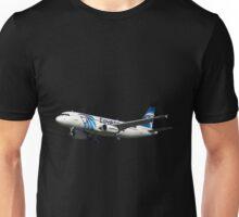 Airbus A320 Egyptair SU-GCC Unisex T-Shirt