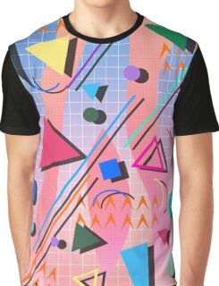 80s pop retro pattern 2 Graphic T-Shirt