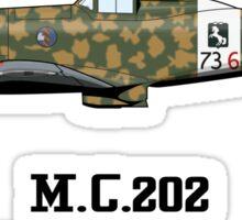 M.C.202 Sticker