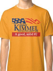 Jimmy Kimmel A Good Solid #2 Classic T-Shirt