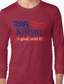 Jimmy Kimmel A Good Solid #2 Long Sleeve T-Shirt