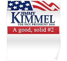 Jimmy Kimmel A Good Solid #2 Poster