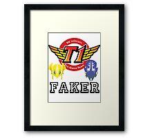 Faker v2 Framed Print