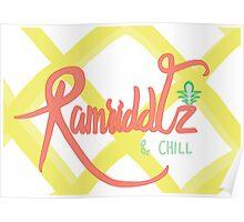 Ramriddlz & Chill Poster