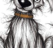 Boris the dog Sticker