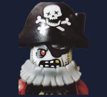 Lego Zombie Pirate minifigure Kids Tee